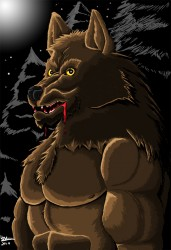 Werewolf Bloody|by Silvermane77
