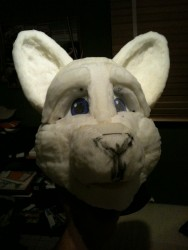 fursuit head update|by Snow_50