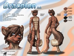 ref135/ Reference: Dracolon (SFW)|by darkgoose