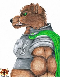 Belic, The Bear Knight|by Silvermane77
