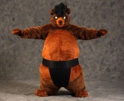 Sumo Bear|by Belic Bear