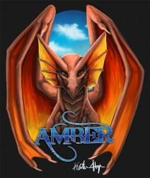 Amber Badge|by tidmatiger
