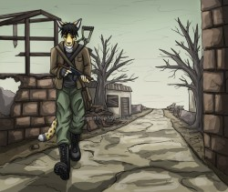 Wasteland|by WingedZephyr