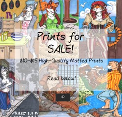 Prints For Sale!|by ChitterChatterOtter