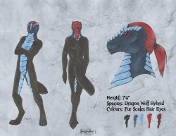Charater sheet - yet to be named furry|by Red Back Dragon