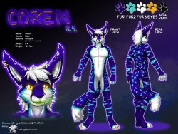 ref138/ Reference: Coren (SFW)|by darkgoose