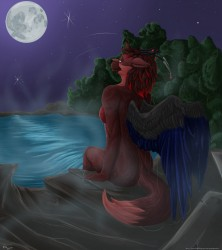 moonlit sonata|by purplepardus