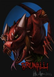 Zombie Badge: brunalli|by tidmatiger