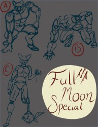 Full Moon Commissions|by Lysette