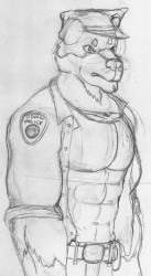 Rottweiler Cop|by Silvermane77