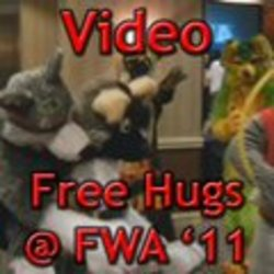 Video: Free Hugs at FWA 2011|by FursForLife