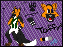 Taffy Ref. Sheet|by RainbowStorm52