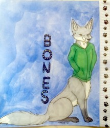 Bones Badge|by Karja