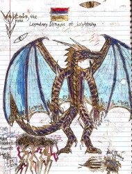 Voltios the Lightning Dragon By Lord Dracodraconis|by DracoDraconis1000