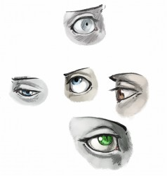 Eye Practice|by TKay