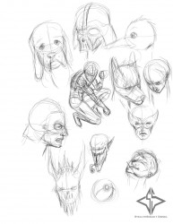 Sketches 2 5/22/12|by StealthSneak1 Diesel
