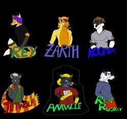 badges from FC 2012|by Heartlessfang