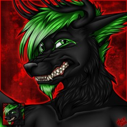 wolvessoulz - Icon Commission|by KCRavenYote