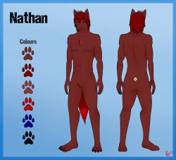 Nathan Ref Sheet|by Redwire