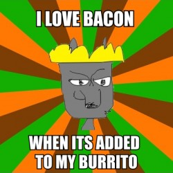 Burrito-Crazed Wolf King Meme #9|by Jacob King