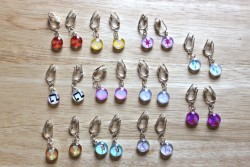 MLP Cutie Mark Earrings 1|by Amethyst Mare