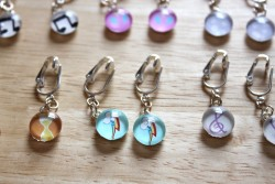 MLP Cutie Mark Earrings 2|by Amethyst Mare