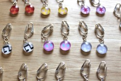 MLP Cutie Mark Earrings 4|by Amethyst Mare