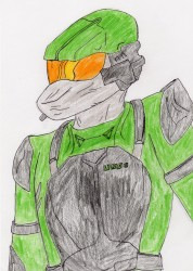 Halo UNSC marine|by Darian The Neon Wolf