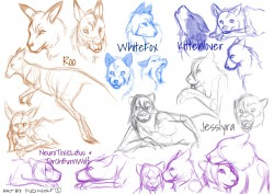 Sketch Stream Sheet|by IndiWolf