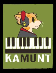 Kamunt the Keyboard Cat|by TheWanderingAngel