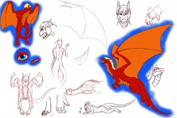 JD's sketch page|by VenuShade