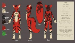 Drake Ref sheet!|by Drake Shadowmane