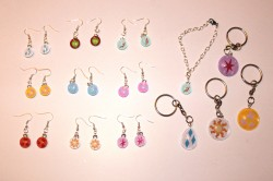 MLP earrings and key rings/chains for sale! :)|by Amethyst Mare