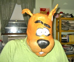 Rubber Scooby-Doo mask!|by wiley207