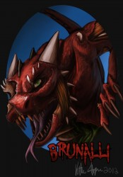 Zombie Brunalli badge|by Brunalli