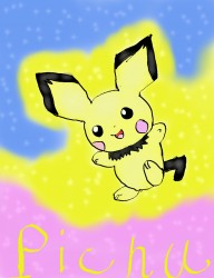 Ultra Cute!!! PIchu!|by deerdigger
