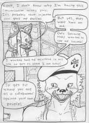 Outfoxing the 5-0 (Page Thirty-Nine)|by Triad Fox