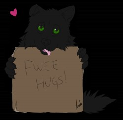 Fwee Hugs!|by IndiWolf