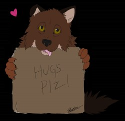 Hugs Plz!|by IndiWolf