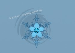 The crest of the water lily|by Tempest Wolf