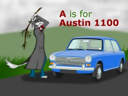 A is for Austin 1100|by Grey the Floydian Sergal