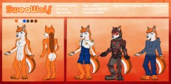Reference sheet : SweaWolf|by HuskyAzores