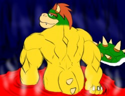 Bowser's Hot Spring|by CaseyLJones
