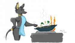Wok like and Egyptian!|by Snoferret