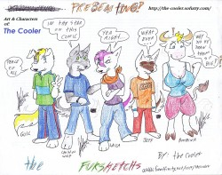 Fursketchs Staff|by the_cooler