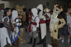 Furries at Gamescom 2012|by Nanaki Yamabushi
