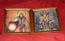 EF 2012 Art Show: Apollo and Cronus|by Ajani