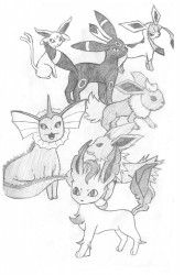 Eeveelutions|by Jovo