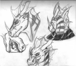 Some Fang Faces|by KalfiezFangwyrm