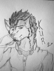 The punk Husky|by KuroroKanji